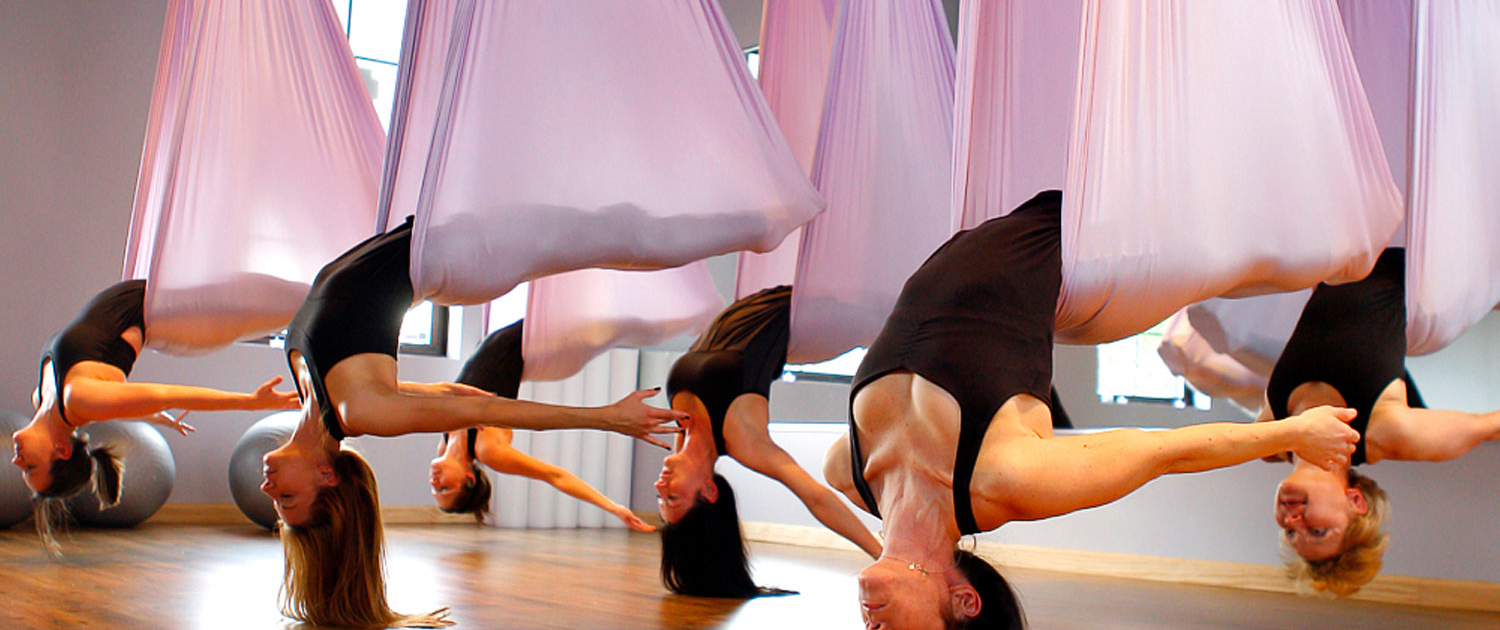 Aerial Yoga for Your Inner Peace