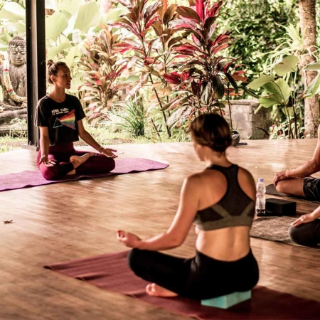Why yoga is so great for inner peace.
